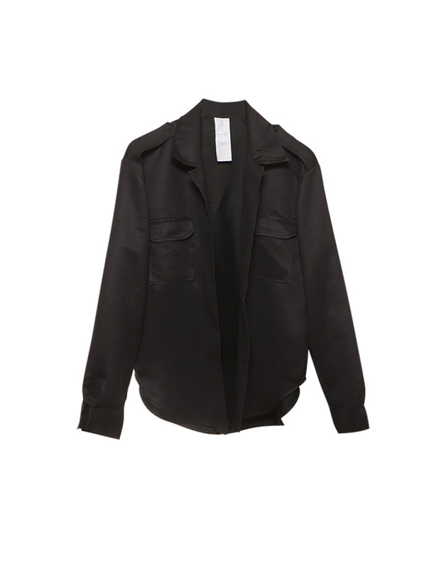 Black suede jacket with zipper