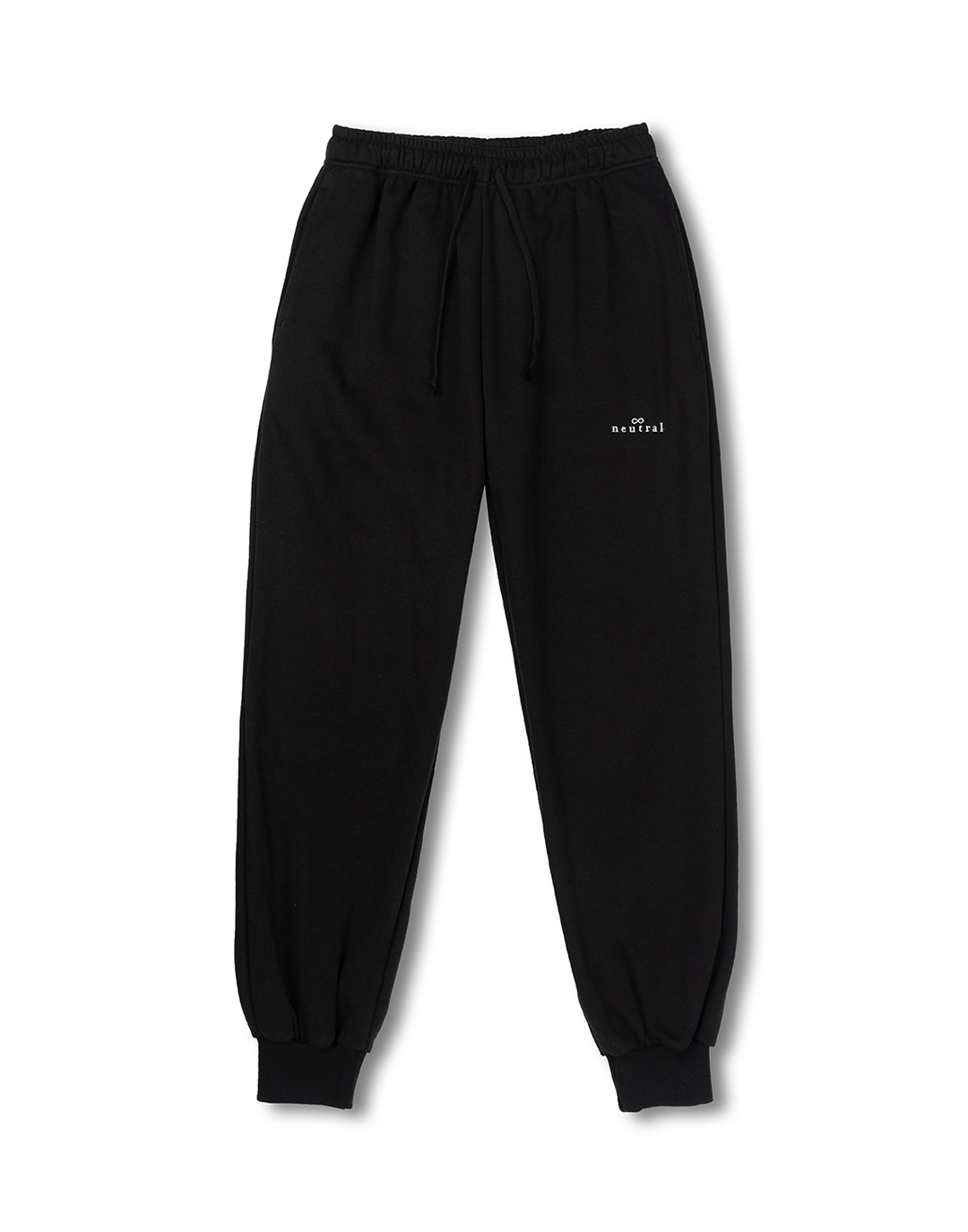 Black jogger sweatpants