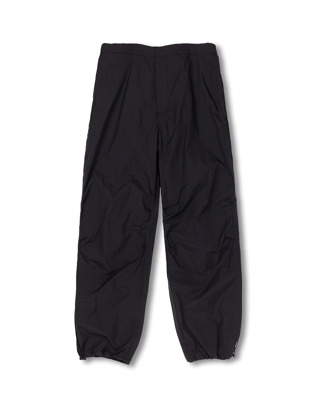 Black non-painted nylon pants
